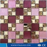 Mosaico de vidro decorativo colorido para a decoração do assoalho