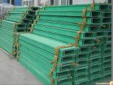 Aço perfurado da bandeja de cabo, bandejas de cabo galvanizadas da bandeja de cabo da escada com certificado do CCC