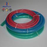Vezel van pvc van de Buizen van de Pijp van de Slang van het Water van pvc van de hoge druk versterkte de Flexibele Plastic Kleurrijke Netto Slang