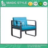 Outdoor Aluminum sofa set with Cushion guards sofa set Aluminum single sofa decaying sofa with Pillow
