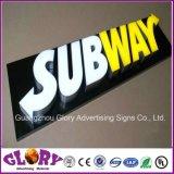 Carta de publicidade / Sinal de letra LED / Resina epóxida cartas