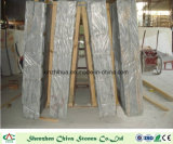 磨かれる台所浴室のために砥石で研がれるPietraの灰色の大理石の平板