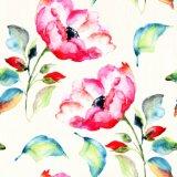 Populaires de l'huile à la main la peinture avec fleur rose décoration maison