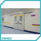 La mejor puerta deslizante automática del precio de fábrica de la calidad del hospital