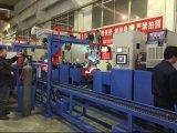 Cadena de producción automática del flujo del cilindro de gas del LPG