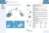 Lampada medica chiara di di gestione (XYX-F700/500 ECOA038)