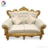 Fantastische europäische Art-Luxuxweinlese-Chesterfield-Sofa mit Sitz drei