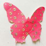 Coperchio del capezzolo del raso a forma di farfalla