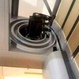 Alisar la superficie silenciosa de aleación de aluminio duro de la puerta de la espiral de alta velocidad