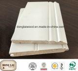 Preço aprontado branco de madeira impermeável India do painel de parede do OEM e do ODM