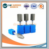 Ferramenta de desbaste rebarbas rotativo de carboneto para peças de máquinas CNC