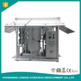 Sistema de reciclaje en línea de alto voltaje del petróleo del transformador del vacío