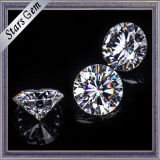 Grote Grootte 20mm Rond EF versus Losse Moissanite voor Juwelen