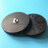 ゴム製上塗を施してある磁気保有物の磁気ベースねじ穴と使用する