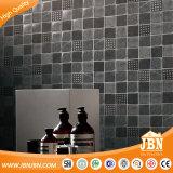 고품질 모자이크 타일 회색 색깔 잉크 제트 나무로 되는 모자이크 유리 벽돌 (V639045)