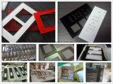 Bords biseautés des plaques de commutateur de glace de rétroviseur en 3mm d'épaisseur