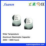 Condensador electrolítico de aluminio 4.7UF 50V 105&ordm de SMD; C