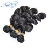 Tessuto brasiliano dei capelli umani di Remy dei gruppi del tessuto dei capelli dell'arricciatura allentata