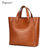 Cathylin ha marcato a caldo le donne del sacchetto di Tote del sacchetto borse di cuoio di modo 3PCS