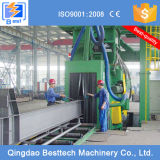 Q69棒鋼のショットブラスト機械