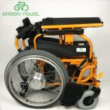 Greenpedel Cheap Price 24V 10ah Electric Wheelchair Folding camera