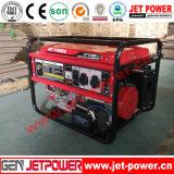 6kwガソリン発電機セットLPG /Gasolineの発電機のポータブル