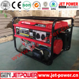 des Benzin-6kw GeneratorPortable Generator-Set LPG-/Gasoline