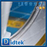 Valvola a farfalla bassa di stile della cialda di triplo di funzionamento di coppia di torsione di Didtek