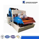 Wasmachine met Hydrocycloon om Fijn Zand te recycleren