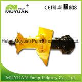 Doublure en caoutchouc anti acide vertical de la pompe d'exploitation minière