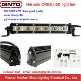 """베스트셀러 18W 7.5 """" 크리 사람 호리호리한 LED 표시등 막대 (GT3520-18)"""