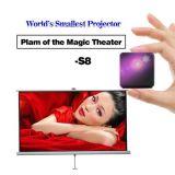 Würfel-Miniprojektor-bewegliches Entwurf LED DLP HD drahtloses WiFi Pico Pocket intelligentes Beamer mit OSAndroid 5.1 Bluetooth 4.1
