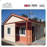 La estructura de acero de larga duración de la casa de diseños de elevación Sencilla villa