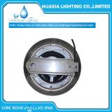 316ステンレス鋼12V RGB白い樹脂によって満たされるLEDのプール水中ライト