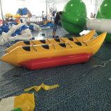 barca di banana gonfiabile della persona 3-8 di 3.3m/4m/4.6m/5.2m/5.9m/6.6m da vendere, barca di banana gonfiabile di doppia riga per la sosta