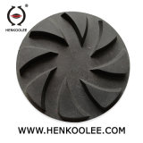 Les plaques de plancher en béton noir de meulage