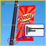 Parentesi media del braccio del risparmiatore di immagine della parentesi della bandiera singola