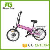 Bicyclettes électriques 36V 250W Type Mini batterie de pliage Ebikes E-vélo avec E Vélos pliables