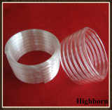 Top Selling Milky Spiral Quartz Tubes Pipe Coil for Sale