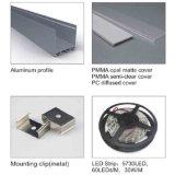 Il fornitore della Cina sospende il profilo di alluminio del LED per la barra chiara del LED
