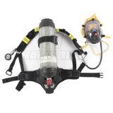 Het Volledige Masker van uitstekende kwaliteit van het Gezicht Scba, het Ademhalingsapparaat van de Zuurstof