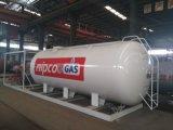 10m3 LPGのガスの満ちるプラント