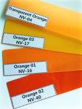 Orange Farben-Zehner-Klublamellenförmig angeordnetes Blatt für Flossen