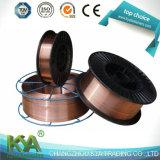 Er70s-6銅の固体ミグ溶接ワイヤー