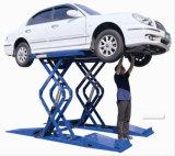 Levage de ciseaux de véhicule de pleine élévation de levage de véhicule de ciseaux de station de pompe hydraulique petit