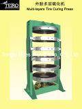 Muilt는 압박 기계를 치료하는 타이어를 밖으로 층을 이룬다