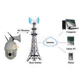 18X 4G WiFi 1080P IR PTZの屋外の無線電信IPのカメラ