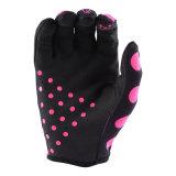 Розовый воздуха вещевого ящика Polka Dot перчатки Mx/MTB внедорожного перчатки (MAG120)