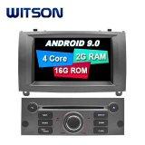 Processeurs quatre coeurs Witson Android 9.0 DVD de voiture GPS pour Peugeot 407 DVR intégré Fonction avec caméra externe