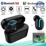 Nova Versão 5.0 do Bluetooth fone de ouvido viva-voz Tws auricular sem fios